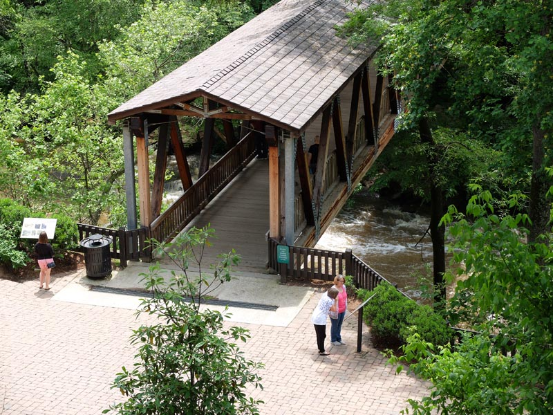 Vickery Creek Bridge - 1